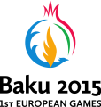 Baku 2015 1st European Games Logo